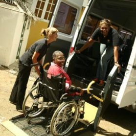 Joseph Cares transport for the physically challenged