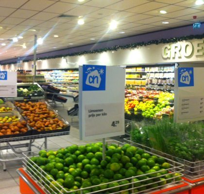 Albert Heijn Dutch supermarket Zeelandia