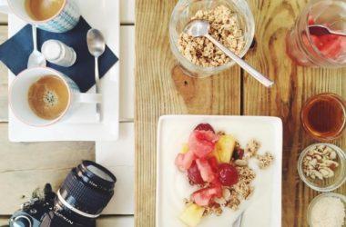 Breakfast Coffee Cereal Birdview