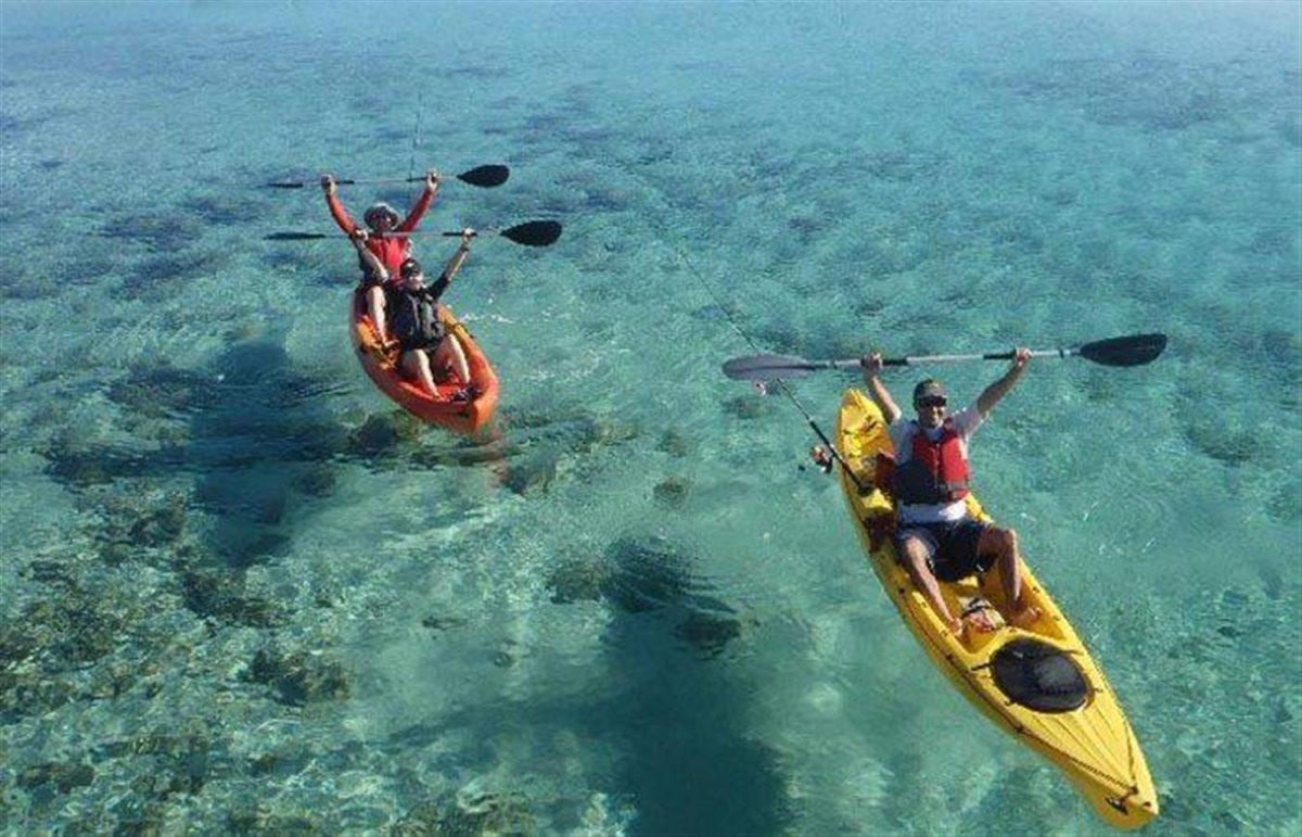 Kayak fishing Adventure Curacao 2