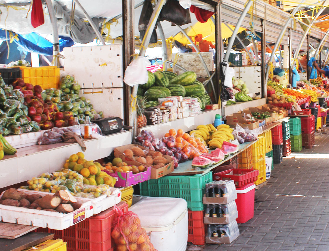 floated market Curacao