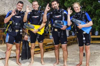 Learn to dive at B Diving & Watersports